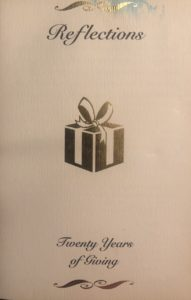 2002 Reflections: Twenty Years of Giving
